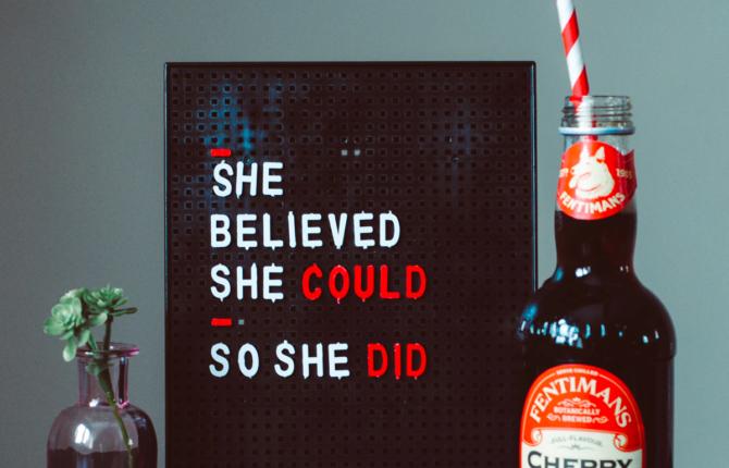 She Belived She Could